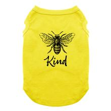 Bee Kind Dog Shirt - Yellow