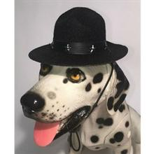 Drill Sergeant Dog Hat - Black