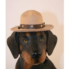 Drill Sergeant Dog Hat - Camel