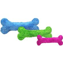 Duraplush Bones Dog Toys by Cycle Dog