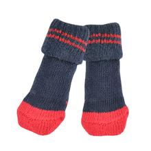 Dylan Dog Socks By Puppia - Navy