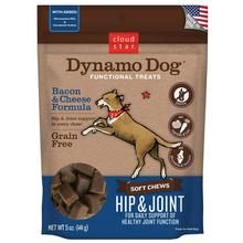 Cloud Star Dynamo Dog Hip and Joint Dog Treats - Bacon & Cheese