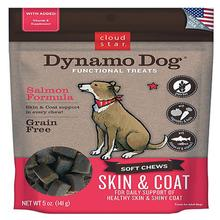 Dynamo Dog Skin and Coat Dog Treats - Salmon