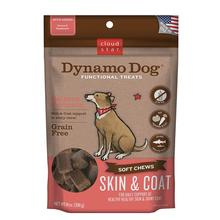 Cloud Star Dynamo Dog Skin and Coat Dog Treats - Salmon