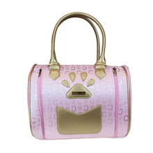 La Madeleine Designer Dog Carrier - Pink