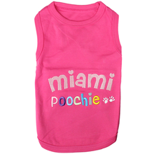 Miami Poochie Tank by Parisian Pet
