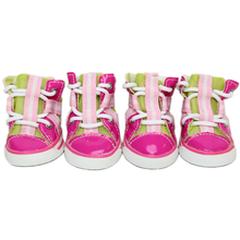 Parisian Pet Dog Sneakers - Pink and Lime