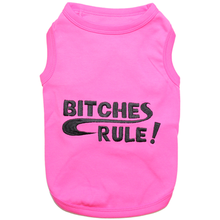 Bitches Rule Dog Tank by Parisian Pet