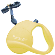 Parisian Pet Retractable Dog Leash - Yellow