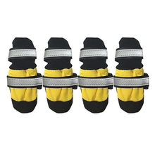 Parisian Pet Reflective Socks - Yellow