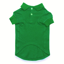 Polo Dog Shirt by Parisian Pet - Green