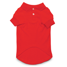 Parisian Pet Dog Polo - Red