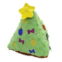 goDog Holiday Christmas Tree Dog Toy - Green