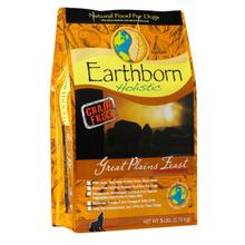 Earthborn Holistic Grain Free Dog Food - Great Plains Feast Bison