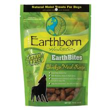 Earthborn Holistic Grain-Free EarthBites Moist Dog Treats - Chicken Meal