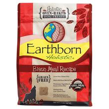 Earthborn Holistic Grain-Free Oven Baked Biscuits Dog Treats - Bison