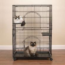 Easy Cat Cage - Black