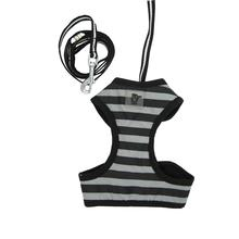 EasyGo Stripe Harness by Dogo - Black