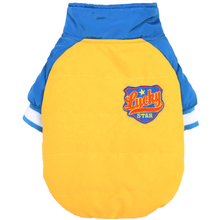 Dobaz Lucky Racer Dog Jacket - Yellow