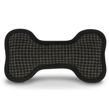 ECO P.L.A.Y. Bone Dog Toy - Houndstooth Grey