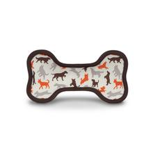 ECO P.L.A.Y. Bone Dog Toy - Scout & About Vanilla