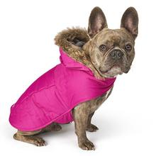 Eddie Bauer Chinook Hooded Dog Parka - Fuschia