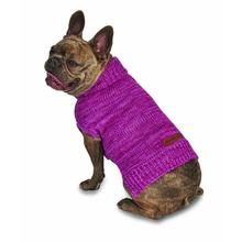 Eddie Bauer Everett Marled Dog Sweater - Dusty Purple Marle