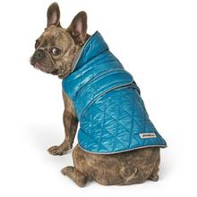 Eddie Bauer Friday Harbor Reversible Dog Vest - Teal/Gray
