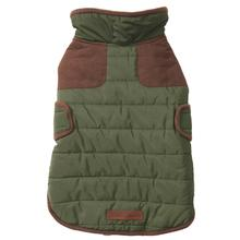 Eddie Bauer Quilted Field Dog Coat - Sprig