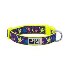 Outer Space Adjustable Clip Dog Collar By RC Pets