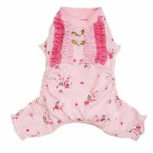 Elena Dog Pajamas - Pink