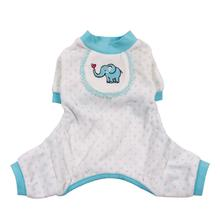Elephant Dog Pajamas - Blue