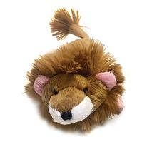 Lion Safari Baby Pipsqueak Dog Toy By Oscar Newman - Pink