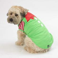 Elf Dog Night Shirt - Green