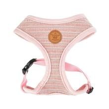 Elicia Basic Style Dog Harness by Pinkaholic - Indian Pink