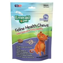 Emerald Pet Feline Health Cat Treat - Hairball Control