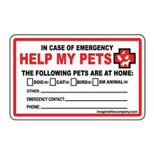 Emergency Wallet Cards - Help My Pets
