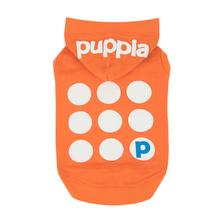 Emmy Hooded Dog Shirt by Puppia - Orange
