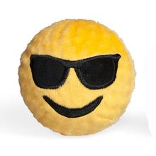 Emoji Faballs Dog Toy - Playin' It Cool Sunglasses