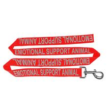 Emotional Support Animal Dog Leash - Red