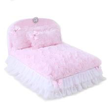 Enchanted Nights Luxury Dog Bed by Hello Doggie - Baby Doll Pink