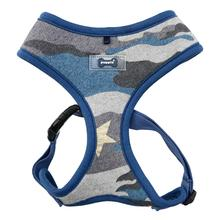 Ensign Camo Basic Style Dog Harness by Puppia - Blue