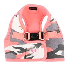 Ensign Camo Vest Style Dog Harness by Puppia - Pink