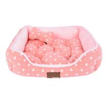 Ernest Dog Bed by Puppia - Pink