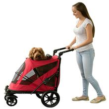 Excursion No-Zip Pet Stroller - Candy Red