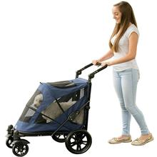 Excursion No-Zip Pet Stroller - Midnight Blue