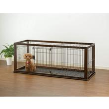 Expandable Dog Crate - Dark Grown