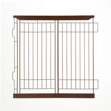 Richell Expandable Dog Crate Divider - Dark Brown