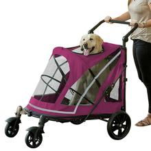Expedition No-Zip Pet Stroller - Boysenberry