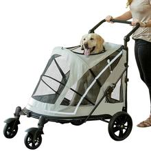 Expedition No-Zip Pet Stroller - Fog